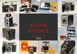 KODAK VINTAGE Kameras von 1934-1982 (Wandkalender 2019 DIN A3 quer) von Fraatz,  Barbara