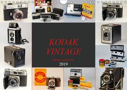 KODAK VINTAGE Kameras von 1934-1982 (Wandkalender 2019 DIN A4 quer) von Fraatz,  Barbara