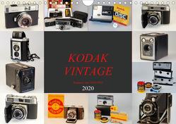 KODAK VINTAGE Kameras von 1934-1982 (Wandkalender 2020 DIN A4 quer) von Fraatz,  Barbara