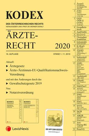 KODEX Ärzterecht 2020 von Doralt,  Werner, Stärker,  Lukas