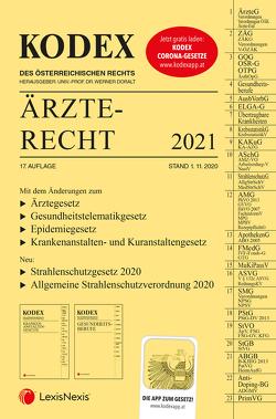 KODEX Ärzterecht 2021 von Doralt,  Werner, Stärker,  Lukas