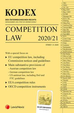 KODEX Competition Law von Doralt,  Werner, Robertson,  Viktoria