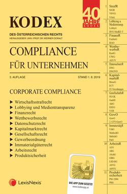 KODEX Compliance für Unternehmen 2019/20 von Doralt,  Werner, Petsche,  Alexander