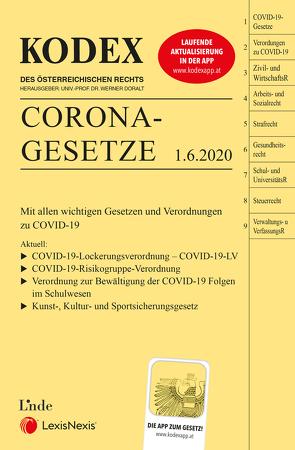 KODEX Corona-Gesetze von Doralt,  Werner