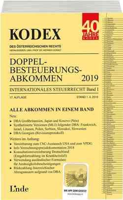 KODEX Doppelbesteuerungsabkommen 2019 von Doralt,  Werner, Herdin-Winter,  Judith, Schmidjell-Dommes,  Sabine