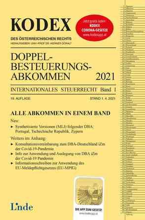 KODEX Doppelbesteuerungsabkommen 2021 von Doralt,  Werner, Herdin-Winter,  Judith, Schmidjell-Dommes,  Sabine