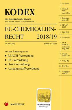 KODEX EU-Chemikalienrecht 2018/19 von Doralt,  Werner, Weinberger,  Franz