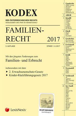 KODEX Familienrecht 2017 von Barth,  Peter, Doralt,  Werner