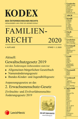KODEX Familienrecht 2020 von Barth,  Peter, Doralt,  Werner