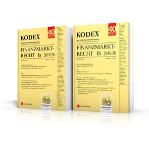 KODEX Finanzmarktrecht Band Ia + Ib 2019/20 von Doralt,  Werner, Egger,  Bernhard