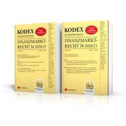 KODEX Finanzmarktrecht Band Ia + Ib 2020/21 von Doralt,  Werner, Egger,  Bernhard