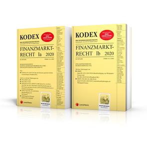 KODEX Finanzmarktrecht Band Ia + Ib 2020 von Doralt,  Werner, Egger,  Bernhard