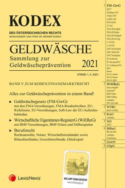 KODEX Finanzmarktrecht Band V von Doralt,  Werner, Egger,  Bernhard