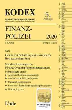 KODEX Finanzpolizei 2020 von Doralt,  Werner, Lehner,  Wilfried