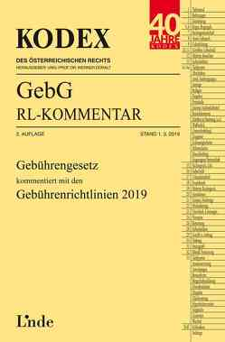 KODEX GebG-Richtlinienkommentar von Doralt,  Werner, Fiala,  Ingrid