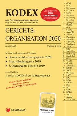 KODEX Gerichtsorganisation 2020 von Doralt,  Werner, Maleczky,  Oskar