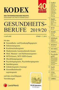 KODEX Gesundheitsberufe 2019/2020 von Doralt,  Werner, Marzi,  Leopold-Michael