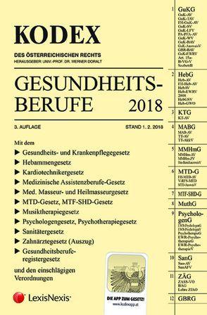KODEX Gesundheitsberufe von Doralt,  Werner, Marzi,  Leopold-Michael