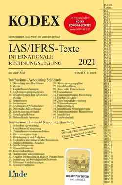 KODEX Internationale Rechnungslegung IAS/IFRS – Texte 2021 von Doralt,  Werner, Wagenhofer,  Alfred