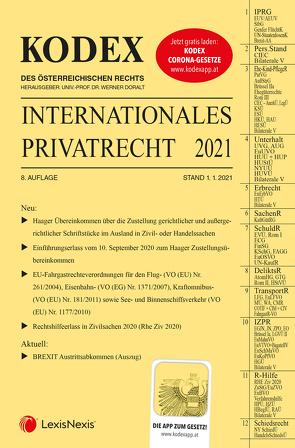 KODEX Internationales Privatrecht 2021 von Cap,  Verena, Doralt,  Werner