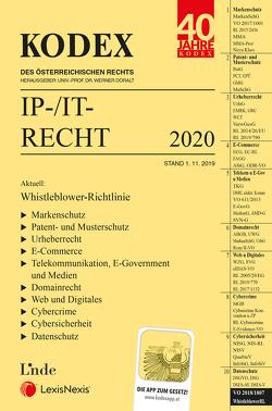 KODEX IP-/IT-Recht von Doralt,  Werner, Pachinger,  Michael M.