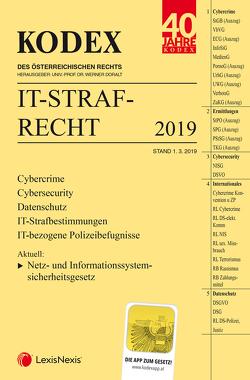 KODEX IT-Strafrecht von Doralt,  Werner, Reindl-Krauskopf,  Susanne, Salimi,  Farsam