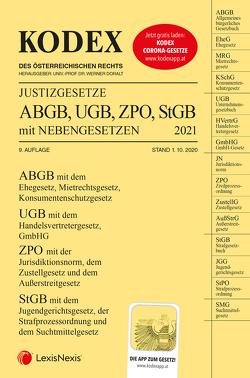 KODEX Justizgesetze 2021 von Doralt,  Werner