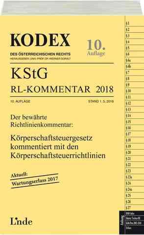 KODEX KStG Richtlinien-Kommentar 2018 von Doralt,  Werner, Humann,  Peter, STIFT,  Andreas