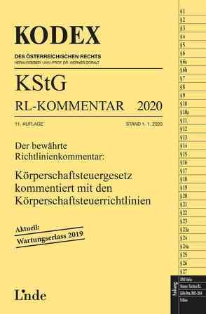KODEX KStG Richtlinien-Kommentar 2020 von Doralt,  Werner, Humann,  Peter, STIFT,  Andreas