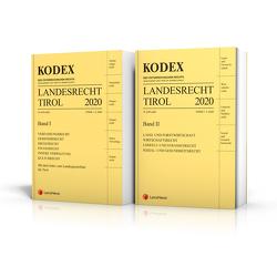 KODEX Landesrecht Tirol 2020 von Brandmayr,  Gerhard, Doralt,  Werner