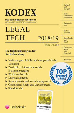 KODEX Legal Tech von Doralt,  Werner