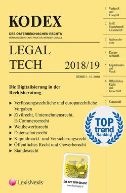 KODEX Legal Tech von Anderl,  Axel, Doralt,  Werner