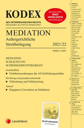 KODEX Mediation von Doralt,  Werner, Ferz,  Sascha
