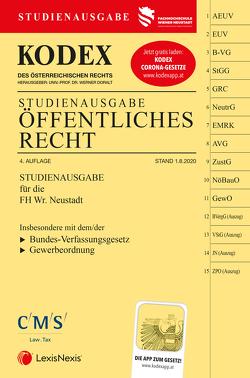 KODEX Öffentliches Recht 2020 von Doralt,  Werner, Preining,  Vanessa