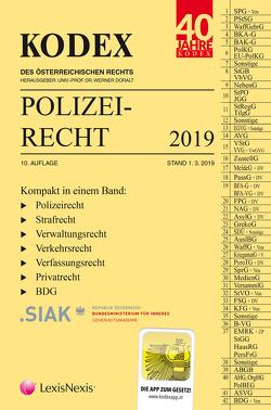 KODEX Polizeirecht 2019 von Beyrer,  Michael, Doralt,  Werner