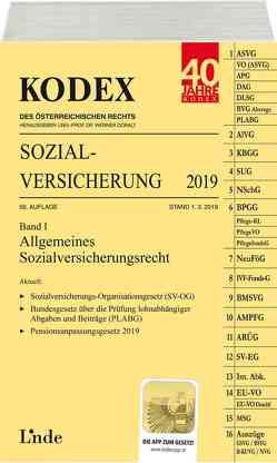 KODEX Sozialversicherung 2019, Band I von Brameshuber,  Elisabeth, Doralt,  Werner