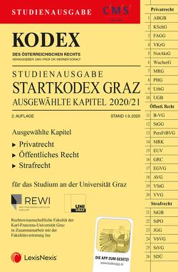 KODEX Startkodex Graz 2020/21 von Doralt,  Werner