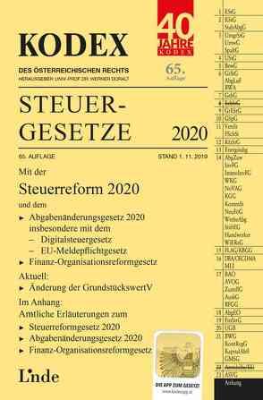 KODEX Steuergesetze 2020 von Bodis,  Andrei, Doralt,  Werner