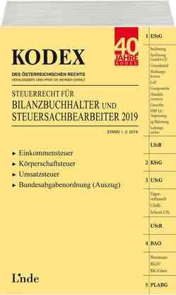 KODEX Steuerrecht für Bilanzbuchhalter und Steuersachbearbeiter 2019 von Doralt,  Werner, Hilber,  Klaus