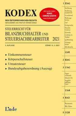 KODEX Steuerrecht für Bilanzbuchhalter und Steuersachbearbeiter 2021 von Doralt,  Werner, Hilber,  Klaus