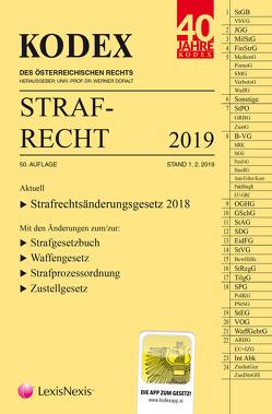 KODEX Strafrecht 2019 von Burianek,  Clemens, Doralt,  Werner