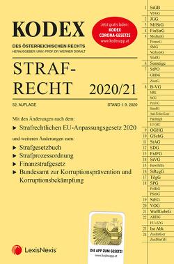 KODEX Strafrecht 2020/21 von Burianek,  Clemens, Doralt,  Werner