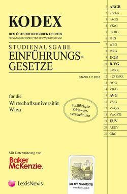 KODEX Studienausgabe Einführungsgesetze von Doralt,  Werner