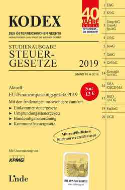 KODEX Studienausgabe Steuergesetze 2019 von Bodis,  Andrei, Doralt,  Werner