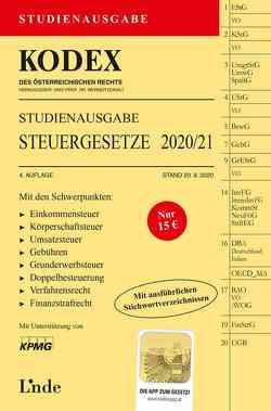 KODEX Studienausgabe Steuergesetze 2020/21 von Bodis,  Andrei, Doralt,  Werner