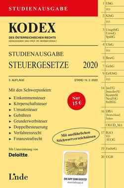 KODEX Studienausgabe Steuergesetze 2020 von Bodis,  Andrei, Doralt,  Werner