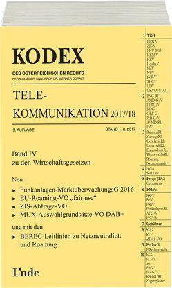 KODEX Telekommunikation 2017/18 von Doralt,  Werner, Feiel,  Wolfgang