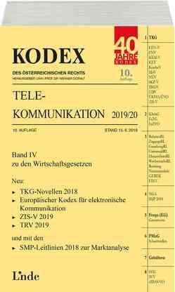 KODEX Telekommunikation 2019/20 von Doralt,  Werner, Feiel,  Wolfgang