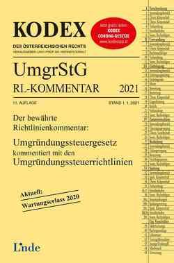 KODEX Umgründungssteuergesetz-Richtlinienkommentar 2021 von Doralt,  Werner, Wellinger,  Günter