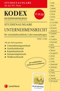 KODEX Unternehmensrecht für wirtschaftsrechtliche LVA von Doralt,  Werner